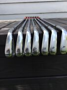 Taylormade Tour Preferred Irons 4-pw Project X6.0 Stiff Steel