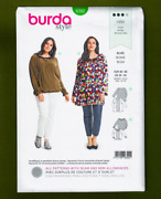 Women's Pullover Blouse Or Tunic Sewing Pattern Plus Sizes 20-30 Burda 6392