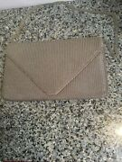 Vintage Whiting And Davis By Leo Narducci Silver Mesh Shoulder Bag/clutch