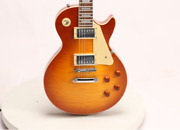 1959 Style Lp Custom Electric Guitar Flamed Maple Top Maple Fingerboard