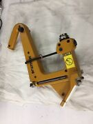 Bostitch Mfn200 Manual Hardwood Flooring Cleat Nailer, Missing Parts As Is