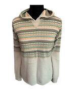 Woolrich Fair Isle Knit Hooded Sweater Woolrich Sweater Hoodie - Womenandrsquos Large