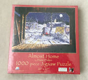 Sunsout Almost Home By Diane Phalen 1000 Piece Jigsaw Puzzle Snow Amish Quilts