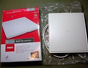 Rca Ant1400r Multi-directional Digital Flat Indoor Antenna Supports 1080 Hdtv
