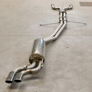 Mercedes 560sec 560sel Hb Sport Exhaust System Stainless Steel 60mm Amg Type