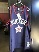 Stall And Dean Andldquorucker 32andrdquo Navy Blue Jersey Size 56 Nos Basketball