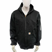 New J131-blk Menand039s Thermal Lined Duck Active Jacket In Black - L Tall