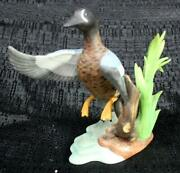 Lenox Figurine Ducks-porcelain Blue-winged Teal Great Condition No Box