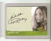 Rare Judith Ridley As Judy Autograph 2012 Night Of The Living Dead Card Rare