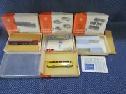 1960's Wiking N Scale Vehicles-truck-cars-bus-cargo Containers Gp2 New In Boxes