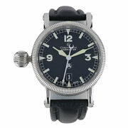 Chronoswiss Timemaster Automatic Steel Ch2833bk Le Msrp 4500 Left Hand Crown