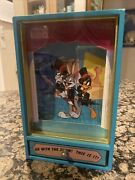 Vintage Bugs Bunny And Daffy Duck On With The Show This Is It Animated Music Box