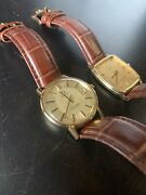 Pair Of Vintage Omega Watches