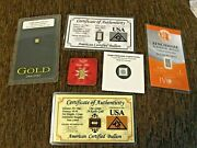3 999 Gold Bullion Bars And 3 999 Silver Bullion Bars 6 Total One Low Price