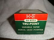 Keuffel And Esser Tru - Point Pencil Lead Pointer Variable Taper
