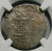Spanish Netherlands 1621-1665 Silver 3 Stuivers Coin Ngc Xf40