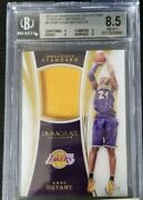 2015 Kobe Bryant Immaculate Standard Game Worn Jersey Patch /75 Lakers Bgs 8.5