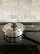 Ekco Prudential Ware 9 Inch Skillet Pan Stainless Steel With Lid