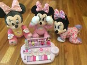 Lot Of 4 Minnie Mouse Baby Toys Euc