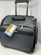 New Briggs And Riley Transcend Rolling Cabin Bag Under Seat Slate Tu416-47 329