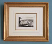Print Of Leeds Castle Kent Temple Island Galleries Classic Edition Gold Frame
