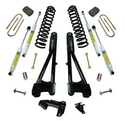 Superlift 4 Lift Kit W/ Radius Arms + Shocks For 2011-2016 Ford F250 4wd Diesel