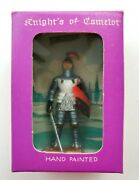 Starlux White Knights Camelot Plasticum Figure Vintage New Old Stock Orig Box