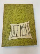 1954 Ole Miss Yearbook, Annual University Of Mississippi