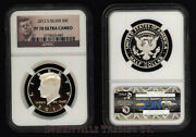 2012-s Silver 50 Cent Kennedy Ngc Pf70 Ultra Cameo Gem Proof Portrait Label