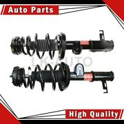 Monroe Front Left Front Right 2 Of Strut And Coil Spring Assemblys For Volt