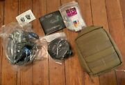 Silynx Headset Radio Comms Communications Interface Unit Tactical With Pouch M