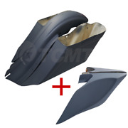 Rear Fender Battery Extended Side Covers Fits Harley Touring Ultra-classic 14-21