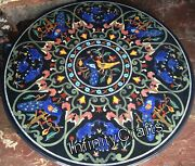 Round Handmade Coffee Table Top Exclusive Design Inlaid Dinning Table 48 Inches