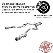 Corsa 14397 304 Ss Cat-back Exhaust System Split Rear Exit For Ford F-150 17-19