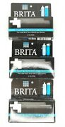 Lot Of 3 Brita Bottle Filter Replacement 2 Pack New Hard Sided And Sports Bb06