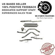 Corsa 21034 304 Ss Cat-back Exhaust System With Split Rear Exit For Chevy/gmc