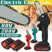 4 800w One-hand Saw Electric Chain Saw Wood Cutter Cordless Kit For Woodworking