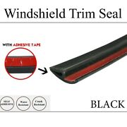 Rubber Seal Trim Auto Leakage Proof Protector-front Rear Windshield/sunroof 240