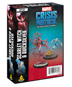 Marvel Crisis Protocol Scarlet Witch And Quicksilver Character Pack Preorder