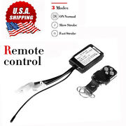 Wireless Remote Control On/off Switch Strobe For Led Work Light Bar Fog Offroad