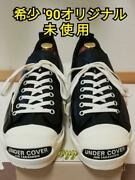 Under Cover And03990 Jack Purcell Deadstock Cuir Noir M Cm26/26.5 Taille W / Boite