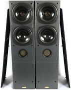Pair Of Tannoy Saturn S8 Home Theater Speakers 280w