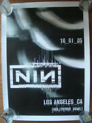 Rare Nine Inch Nails Live With Teeth 2005 Tour Poster Nin L.a. Hollywood Bowl