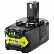 Rb18l50 18v 5000mah Lithium Battery Replacement For All Ryobi 18v Power Tools Bp