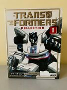 Transformers Collection 1 G1 Jazz / Meister New And Sealed Takara Tomy