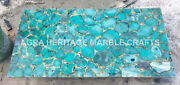 5and039x3and039 Marble Dining Center Outdoor Table Top Malachite Random Inlay Decor H5689b