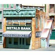 Downtown Deco 2013 - Metals Bank   - N Scale Kit