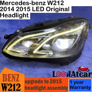 2014 2015 Mercedes-benz W212 E400 Led Headlight Assembly Used One Set