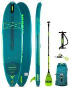 Jobe Yarra Sup 10.6 Package Teal Surf Sup Stand Up Paddle Board Komplettset