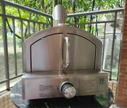 Outdoor Gas Pizza Oven Stainless Steel Portable Kitchen Free Shipping